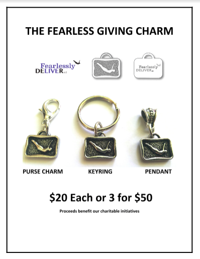 art of fearlessly giving back charm