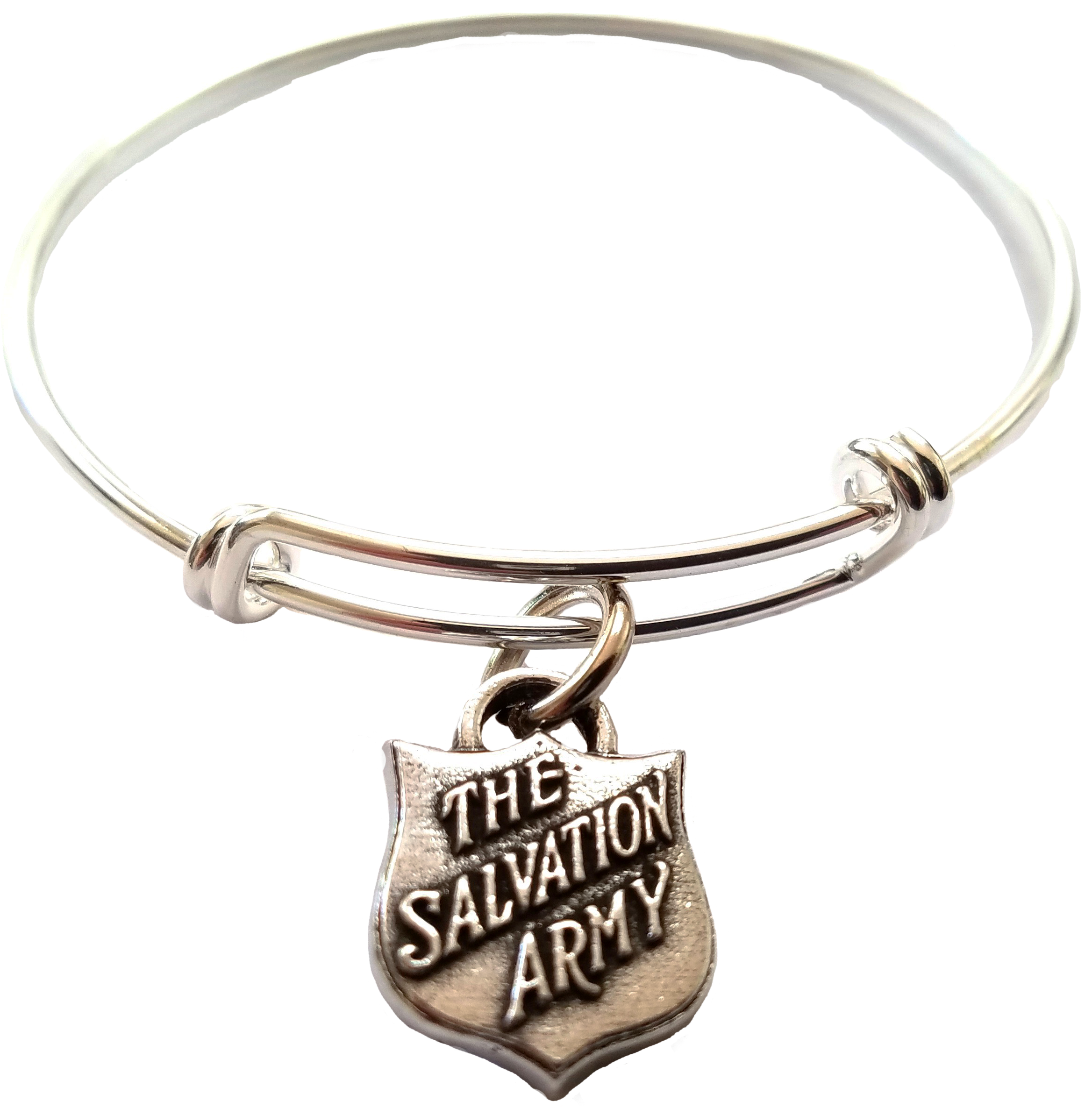 salvation army custom bangle charm bracelets