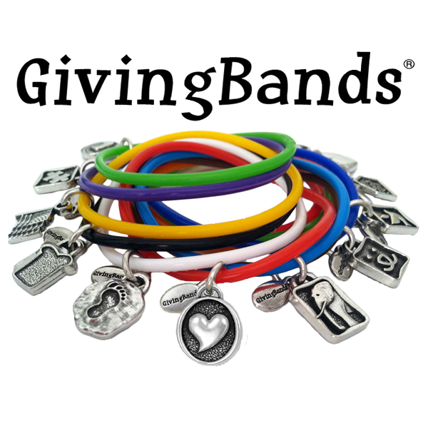 givingbands customized silicone bracelets