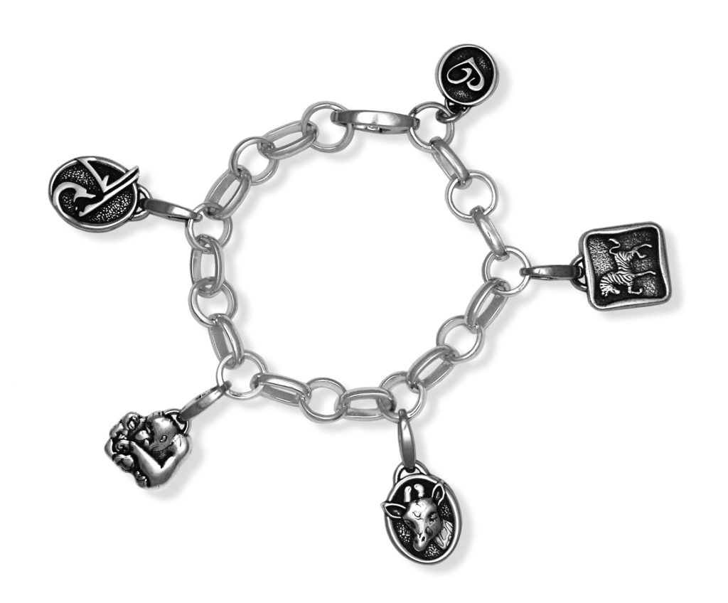 phoenix zoo custom animal charms bracelet