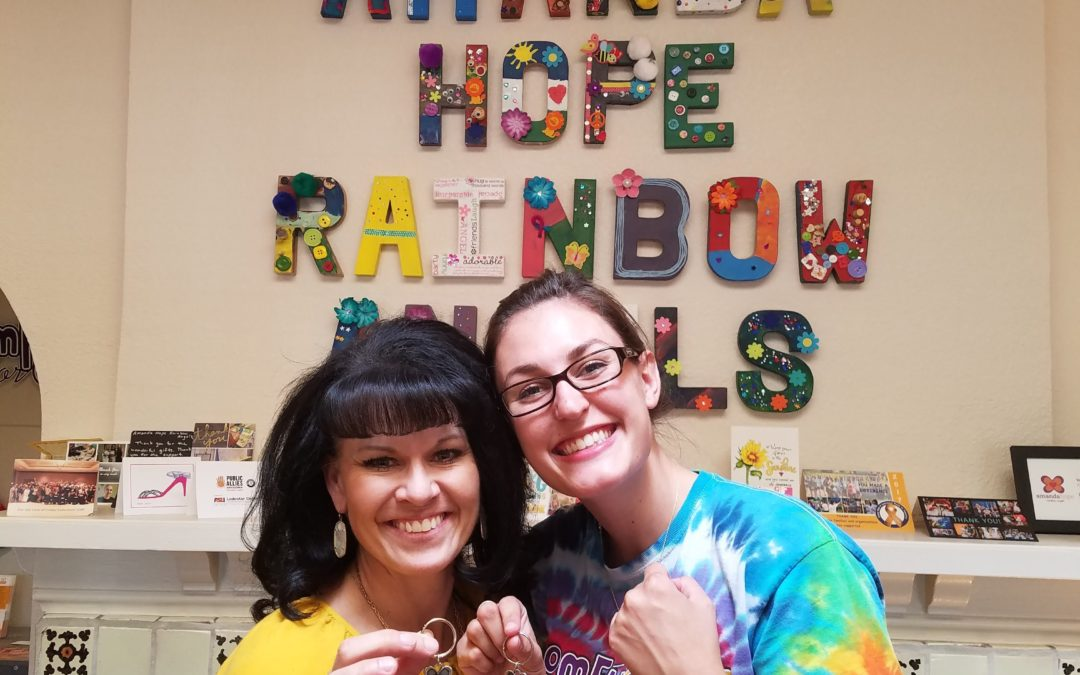 Amanda Hope Rainbow Angels Meeting Important Needs of Pediatric Cancer Patients