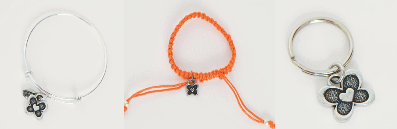 Amanda Hope Project childhood cancer awareness bracelets