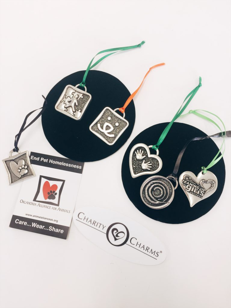 custom logo ornaments