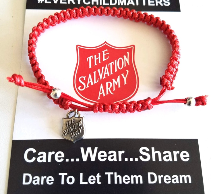 Get Behind the Red Shield with The Salvation Army