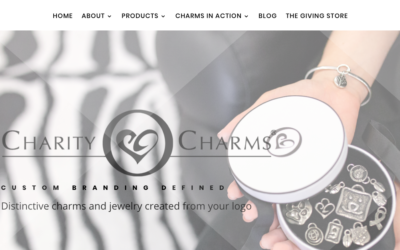 Introducing the Brand New Redesigned CharityCharms.Com