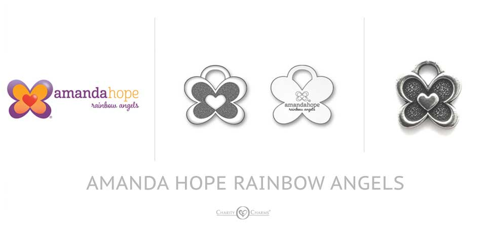 amanda hope custom logo charms