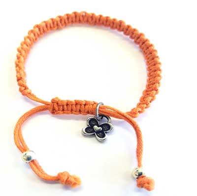 cotton macrame bracelets