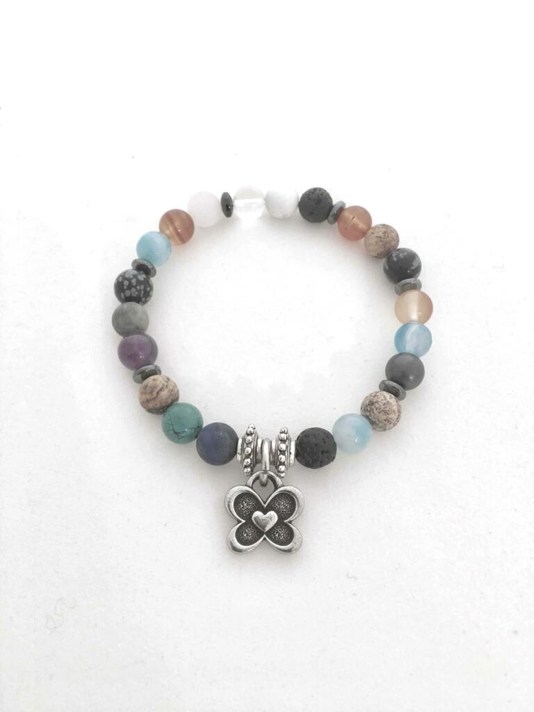 charma power gemstone charm bracelets