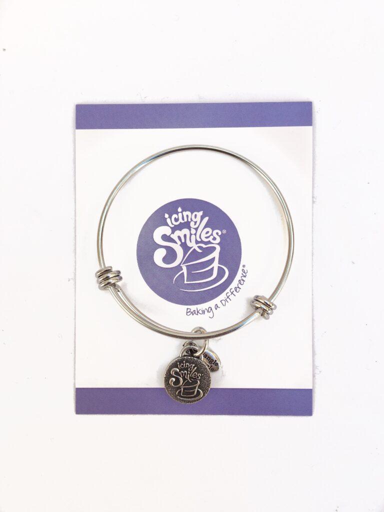 fundraising bangle charm bracelets icing smiles