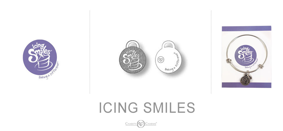 charity charms icing smiles