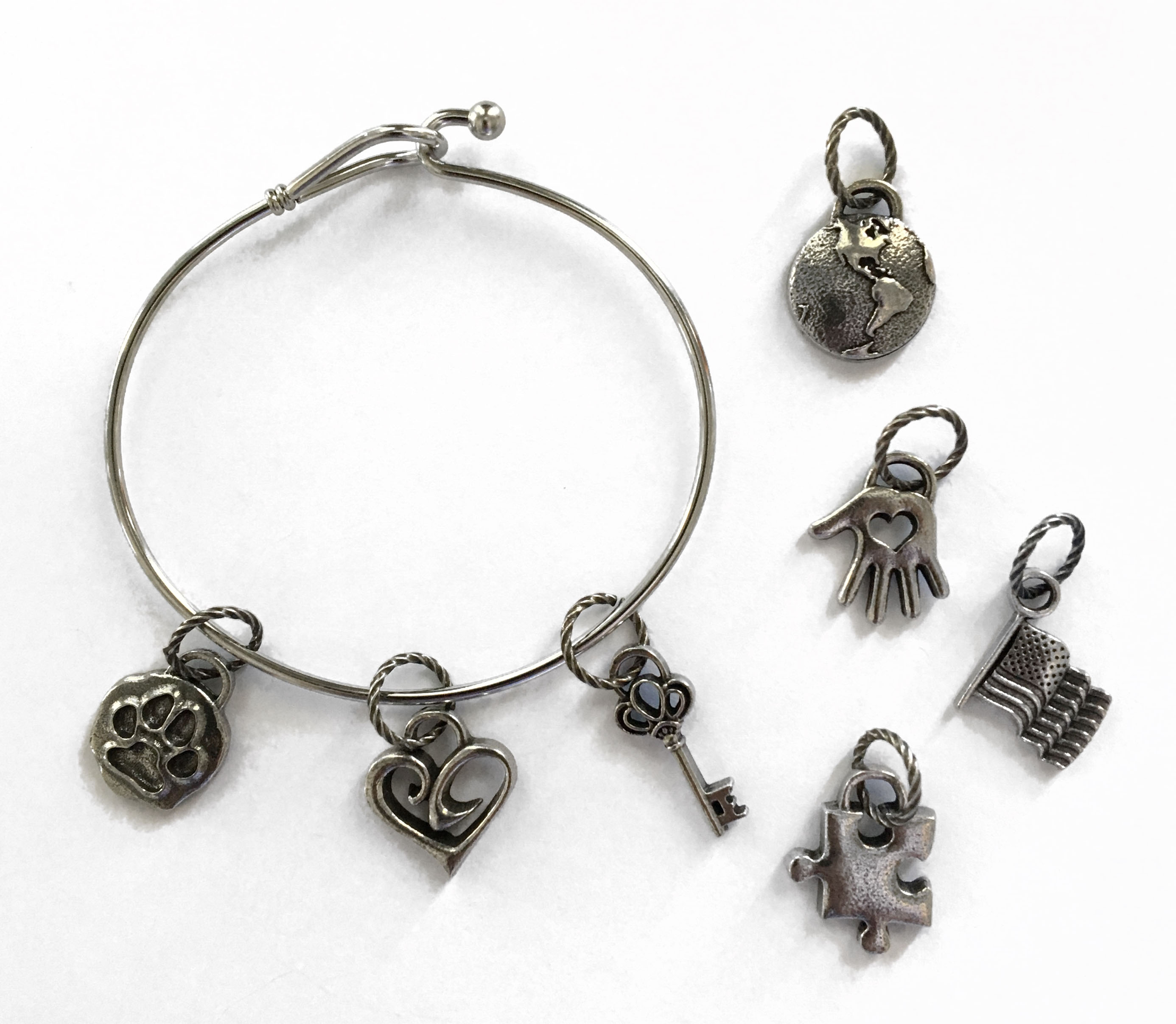 add a charm bracelets