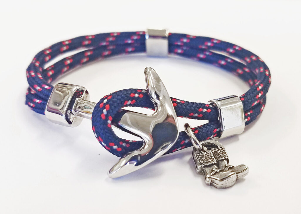 sailors for santa nautical rope bracelets