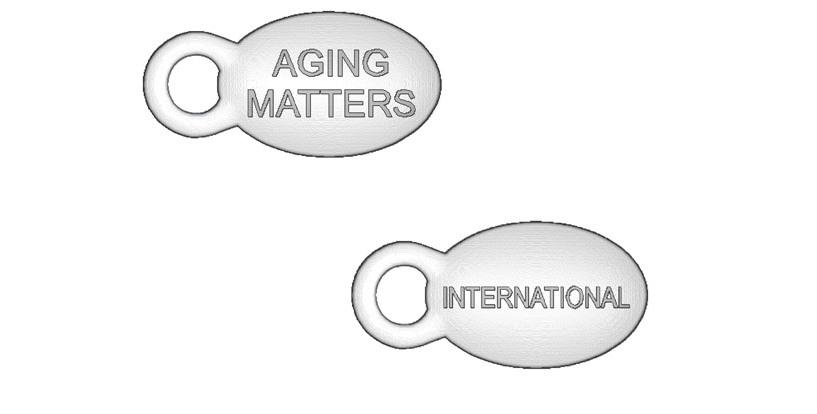 aging matters international event takeaways branding bead