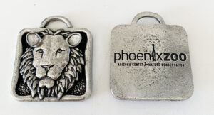 custom holiday ornaments lion