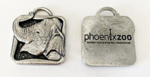 phoenix zoo custom holiday ornaments elephant