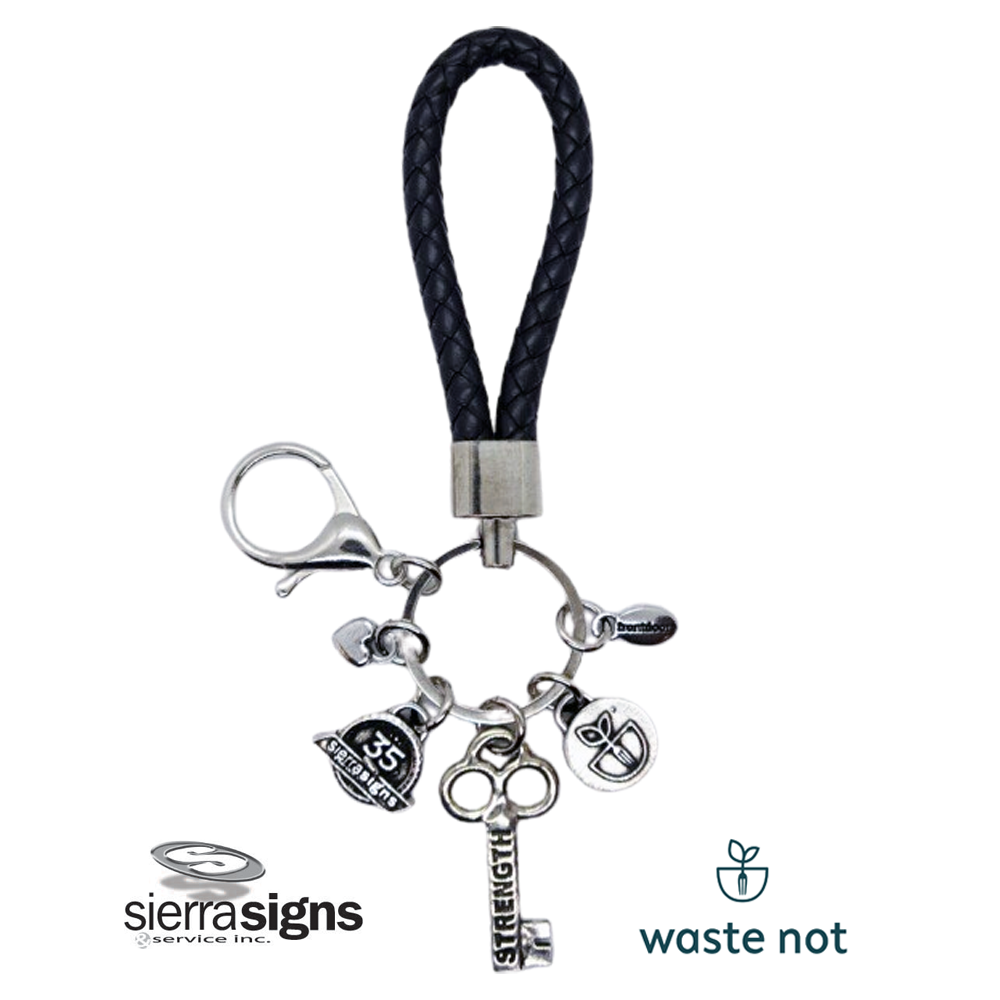 waste not sierra signs key fob